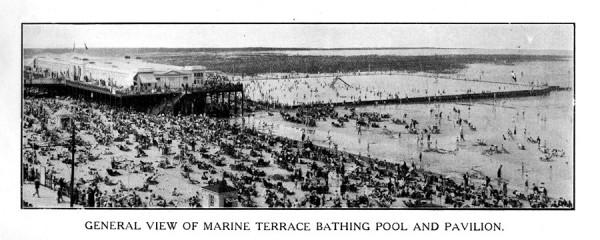 Marine terrace pool and walpole bay bathing pool baths for 11 marine terrace