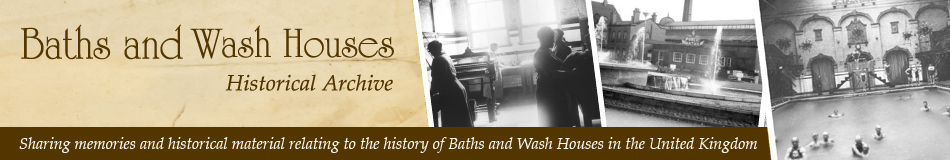 Baths and Wash Houses Historical Archive