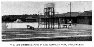 New Swimming Pool in King George's Park Wandsworth
