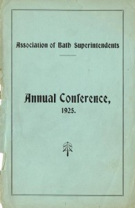 1925 Annual Conference Report