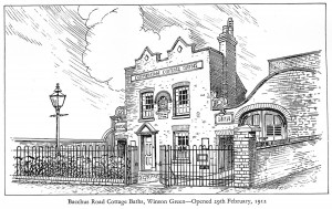 Bacchus Road Cottage Baths Sketch