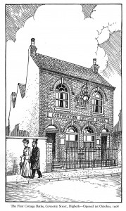 Coventry Street Cottage Baths Sketch
