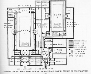 Entwisle Road Baths Rochdale Plan
