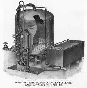 Kennicott Base Exchange Water Softening Plant