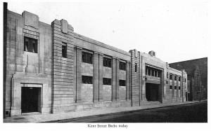 Kent Street Baths 1951