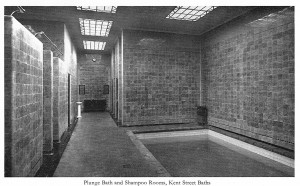 Kent Street Baths Plunge Bath & Shampoo Rooms