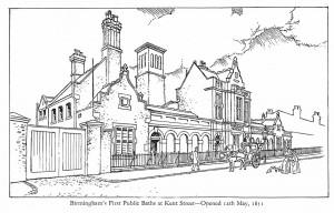 Kent Street Baths Sketch