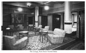 Kent Street Baths Turkish Baths Lounge