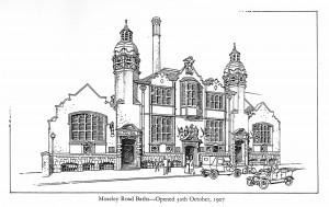 Moseley Road Baths Sketch