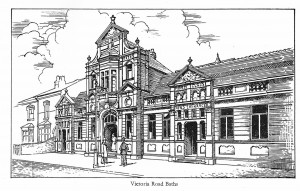 Victoria Road Baths Sketch