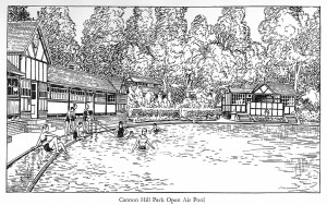 Cannon Hill Park Open Air Pool