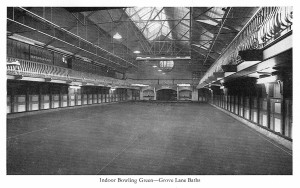 Grove Lane Baths Indoor Bowling Green