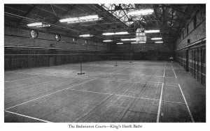 Kings Heath Baths Badminton Courts