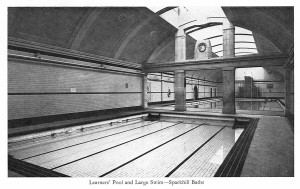 Sparkhill Baths Learners and Large Swim