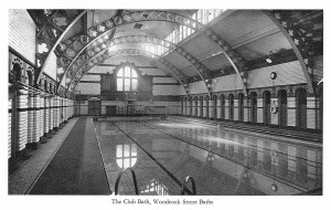 Woodcock Street Baths Club Bath