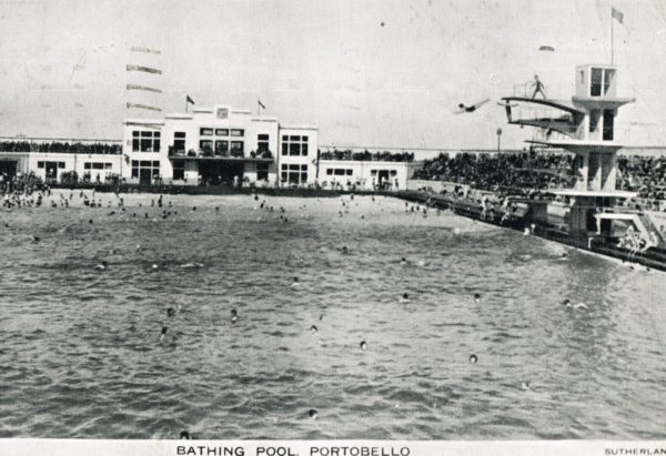 Portobello Open Air Bathing Pool Baths And Wash Houses Historical Archive